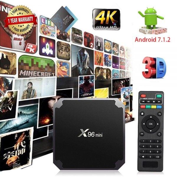 X96 Mini Smart TV Box Prices in Pakistan
