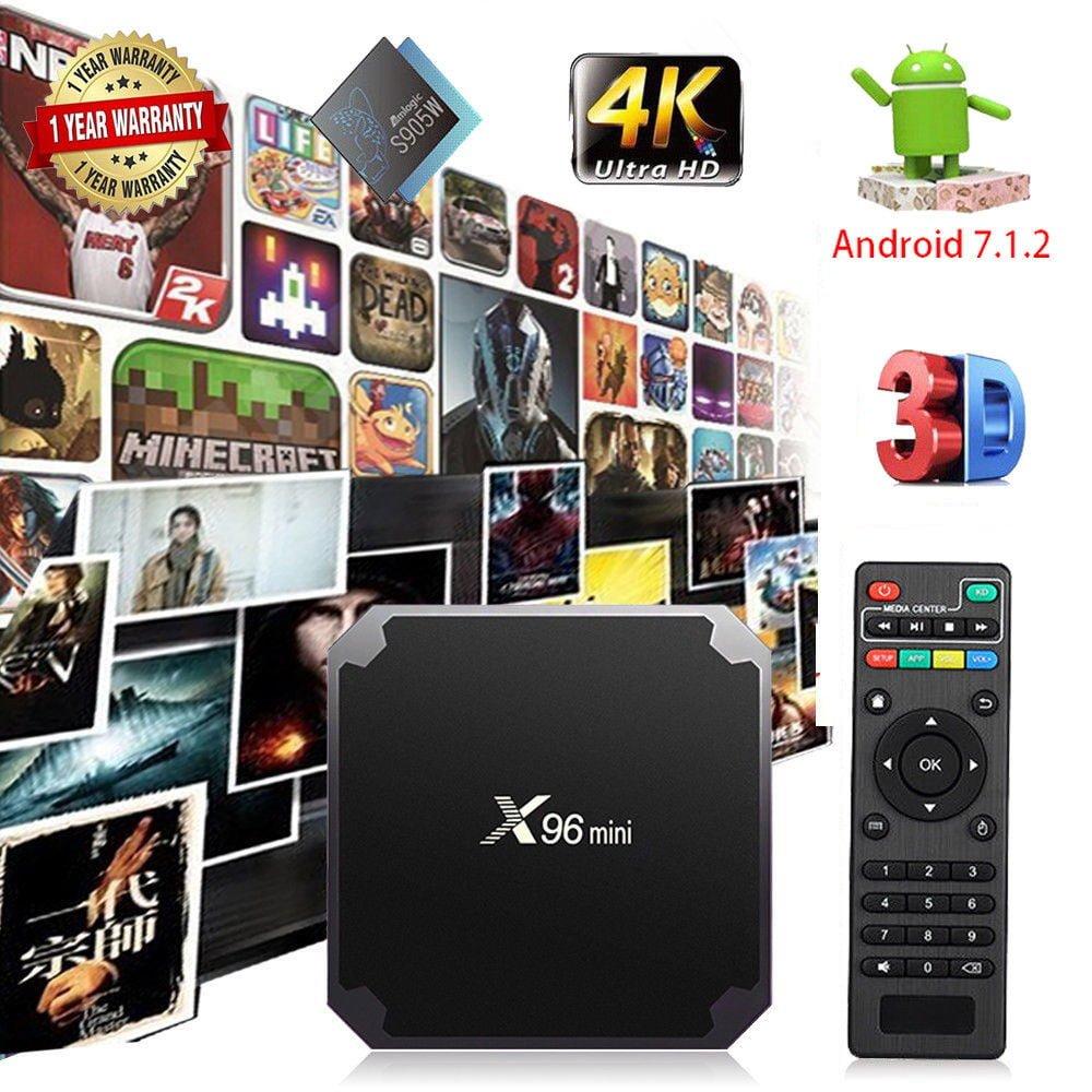 X96 MINI Android 7 1 Smart TV Box 2GB RAM 16GB ROM Quad Core 2 4GHz