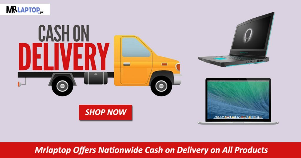 Cash On Delivery MrLaptop banner