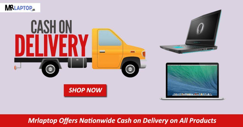 Cash On Delivery MrLaptop banner