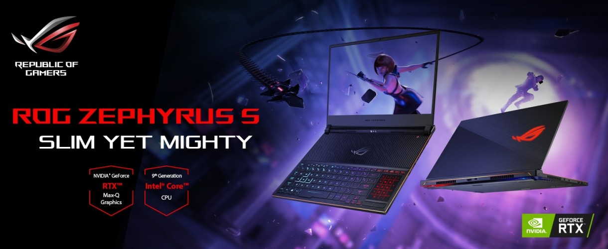 Asus ROG Zephyrus S GX531 Gaming Description 1