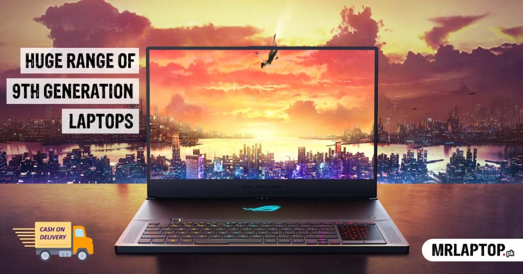 9th Generation Laptops prices in Pakistan
