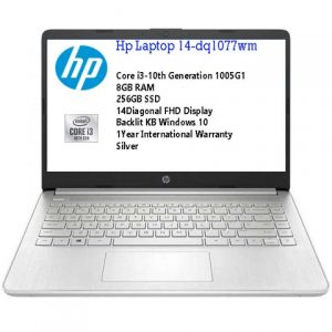 HP 14 DQ1077wm Intel Core i3