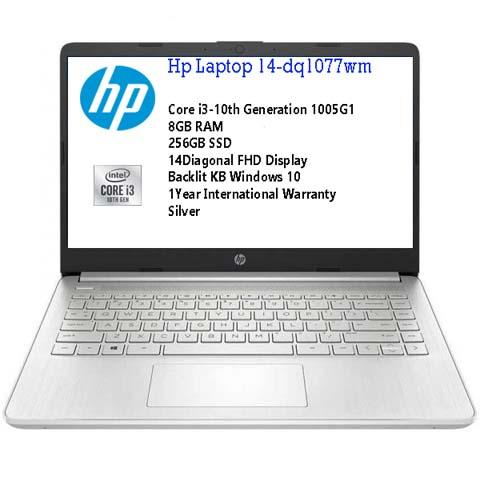 HP 14 DQ1077wm Intel Core i3